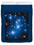 Hubble Sees Ghost Light From Dead Galaxies Duvet Cover