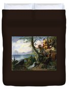 Hudson: New York, 1609 Duvet Cover