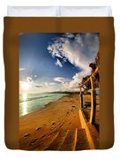 Huequito Beach Duvet Cover