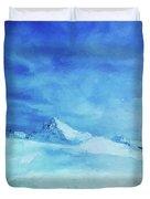 Huge And Blue Duvet Cover