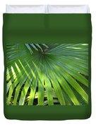 Huge Palm Leaf Duvet Cover