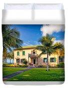 Hulihe'e Palace, Kona, Big Island Hawaii Duvet Cover