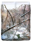 Humber River Winter 3 Duvet Cover