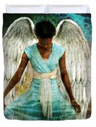 Humble Angel Duvet Cover