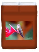 Hummingbird - 18 Duvet Cover