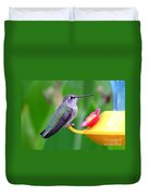 Hummingbird 32 Duvet Cover