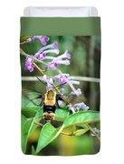 Hummingbird Bee Duvet Cover