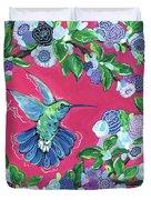 Hummingbird Duvet Cover