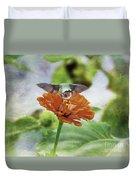 Hummingbird Bow Duvet Cover