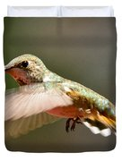 Hummingbird Facing Left Duvet Cover