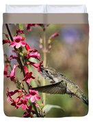 Hummingbird Haven  Duvet Cover