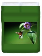 Hummingbird Hawk Moth - Five Duvet Cover