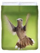 Hummingbird Hello There Duvet Cover