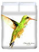 Hummingbird I Duvet Cover