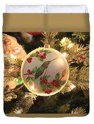 Hummingbird Ornament Duvet Cover