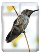 Hummingbird Tongue Duvet Cover