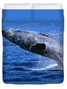 Humpback Full Breach Duvet Cover