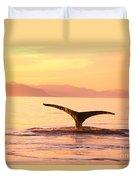Humpback Whale Fluke Duvet Cover