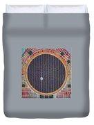Hundertwasser Shuttle Window Duvet Cover