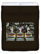 Hungry Clowns Duvet Cover