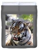 Hungry Eyes Duvet Cover