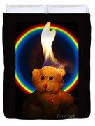 Hunk Of Burning Love Duvet Cover