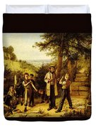 Hunt Charles The Peace Maker Duvet Cover