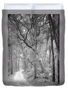 Hunting Island Path  Duvet Cover