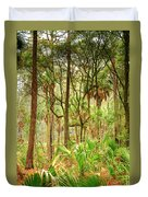 Hunting Island State Park Duvet Cover
