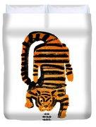 Hunting Tiger Duvet Cover