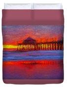 Huntington Beach Duvet Cover