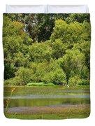 Huntington Beach Central Park II Duvet Cover