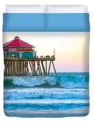 Huntington Pier Duvet Cover