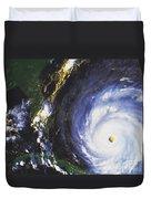 Hurricane Floyd Duvet Cover