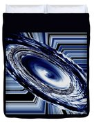 Hurricane In Space Abstract Duvet Cover