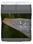 Hurricane Raindrops Duvet Cover