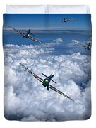 Hurricanes On Your Tail Duvet Cover