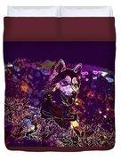 Husky Dog Pet Canine Purebred  Duvet Cover
