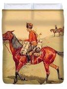 Hussar Russian Guard Corps Duvet Cover