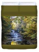 Huyck Preserve Falls Duvet Cover