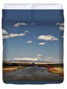 Hwy 142 Rio Grande River Duvet Cover