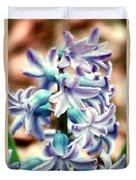 Hyacinth Photo Manipulation  Duvet Cover