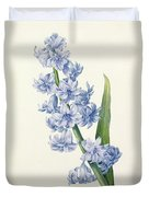 Hyacinth Duvet Cover by Pierre Joseph Redoute