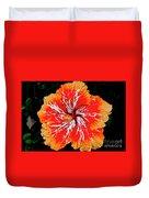 Hybrid Hibiscus II Maui Hawaii Duvet Cover