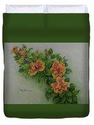Hybrid Hibiscus Duvet Cover
