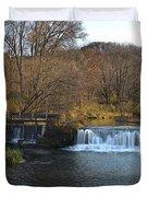 Hyde Mill Wisconsin Duvet Cover by Steve Gadomski