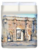 Hyde Park Entrance Duvet Cover