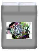 Hydrangea Abstract Duvet Cover