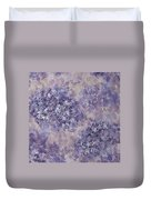 Hydrangea Blossom Abstract 1 Duvet Cover