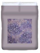 Hydrangea Blossom Abstract 2 Duvet Cover